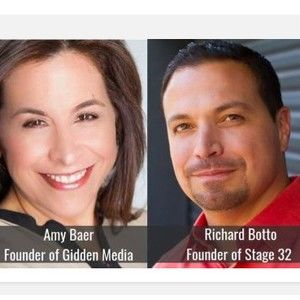 """Talking Rom Coms! Richard """"RB"""" Botto (Stage 32) & Amy Baer (Women in Film Board President)"""