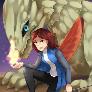 Centra Helion: Future War Queen of Dragon World Voryon