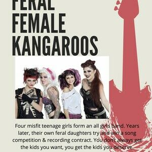Feral Female Kangaroos