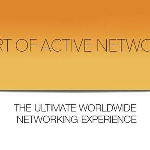 THE ART OF ACTIVE NETWORKING, PASADENA Sept 18th, 2017