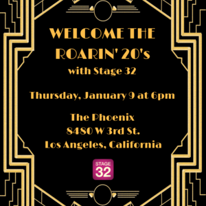 Welcome to the Roaring 20's with Stage 32!