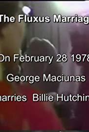 The Fluxus Marriage: George Maciunas Marries Billie Hutching