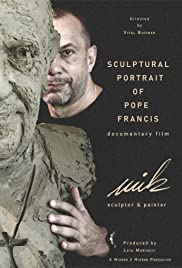 Sculptural Portrait of Pope Francis by Mik Simcic