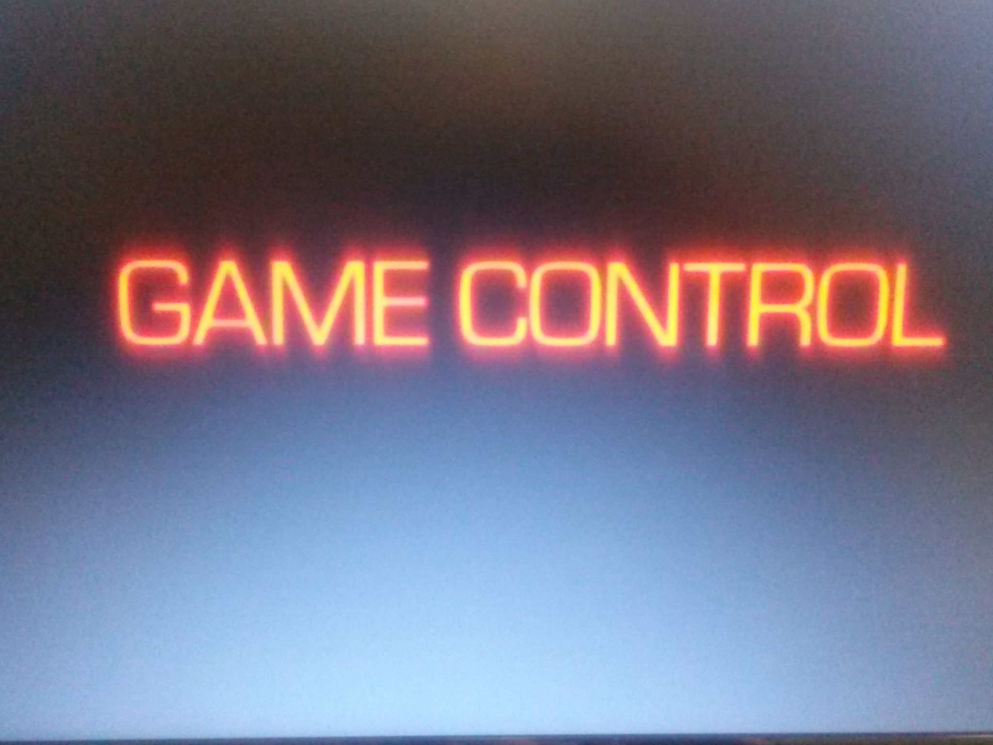 Game Control