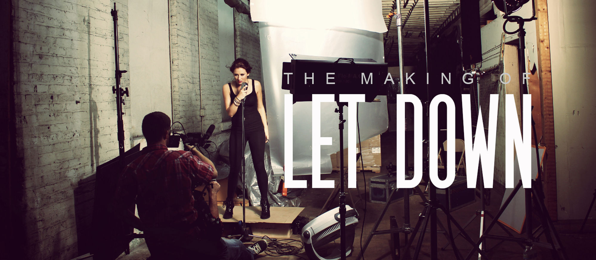 "The Making of ""LET DOWN"" Music Video"