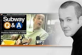 Subway Q & A w/Rich Collier