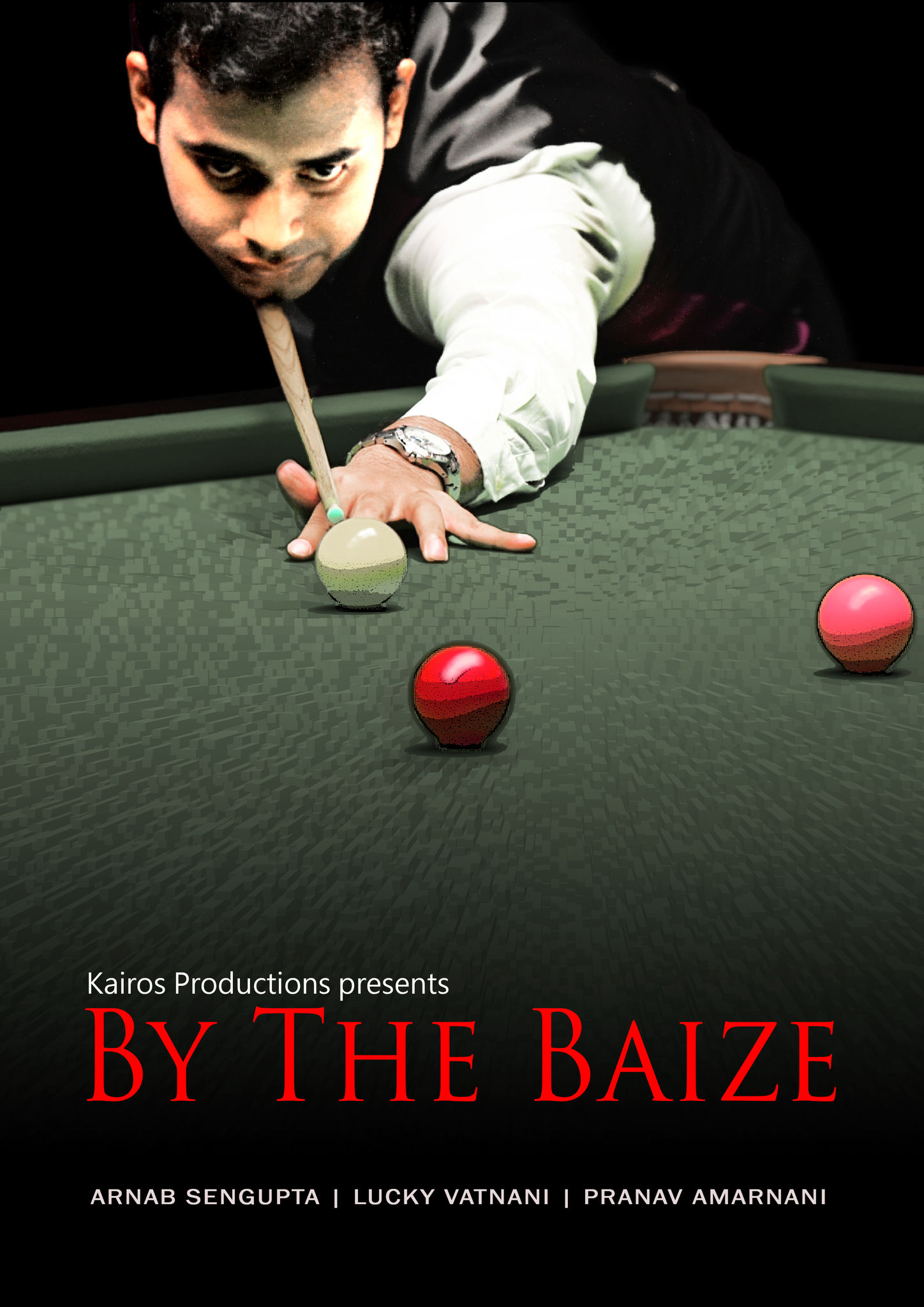 By The Baize