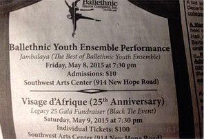 Jambalaya (The Best of Ballethnic Youth Ensemble)