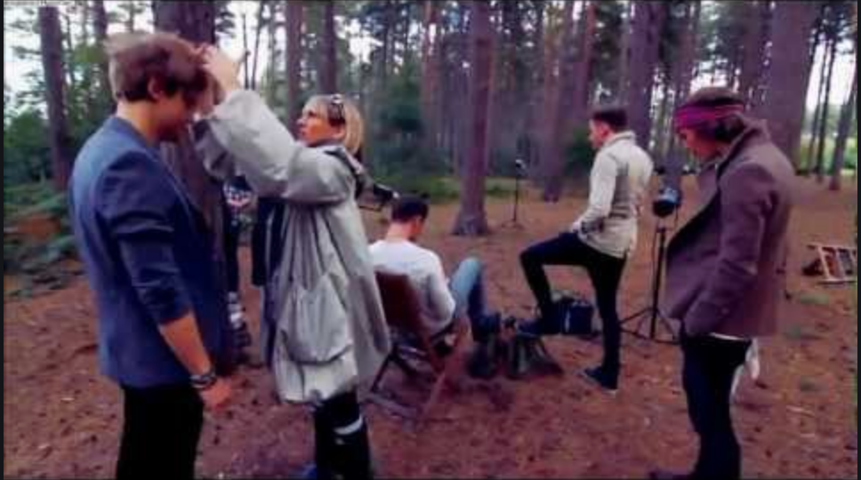 McFly's 2012 Calendar Shoot - Behind The Scenes