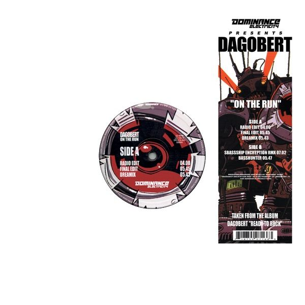 Dagobert - On The Run Maxi Single