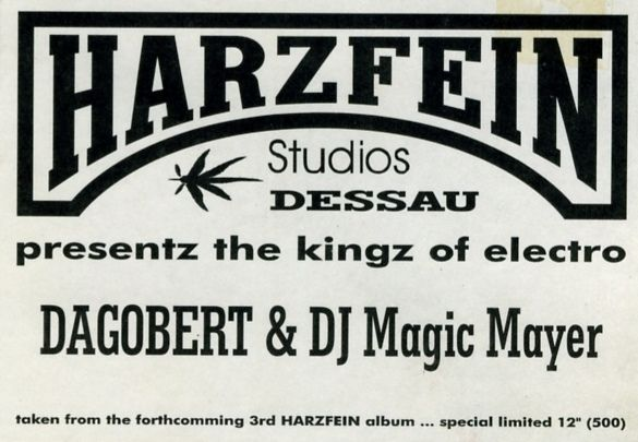 Dagobert & DJ Magic Mayer - Harzfein Presentz Kingz Of Electro