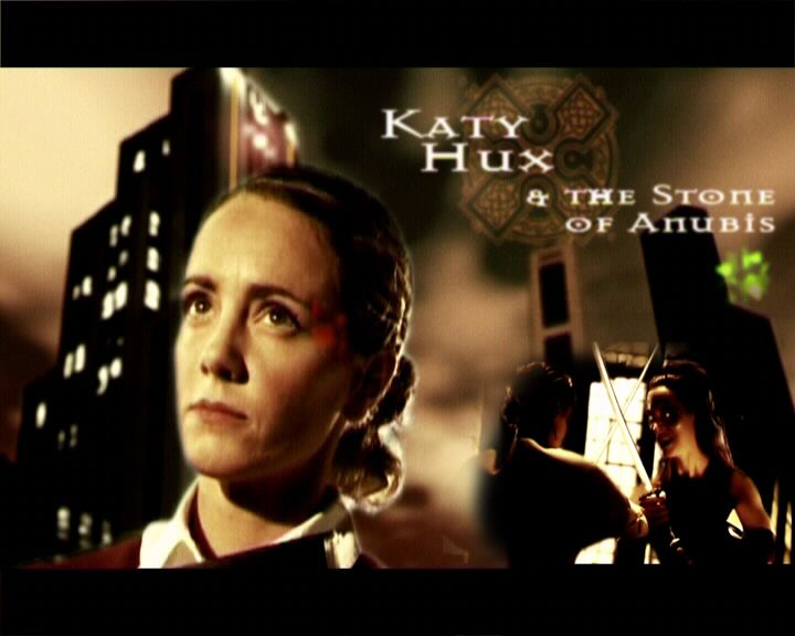Katy Hux and the Stone of Anubis