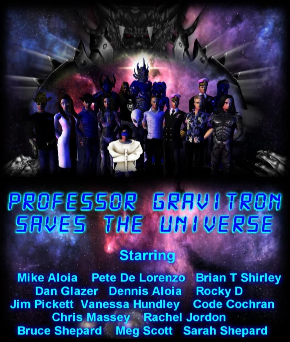 Professor Gravitron Saves The Universe