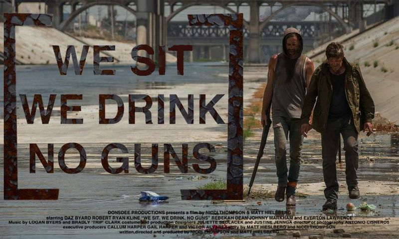 We Sit. We Drink. No Guns.