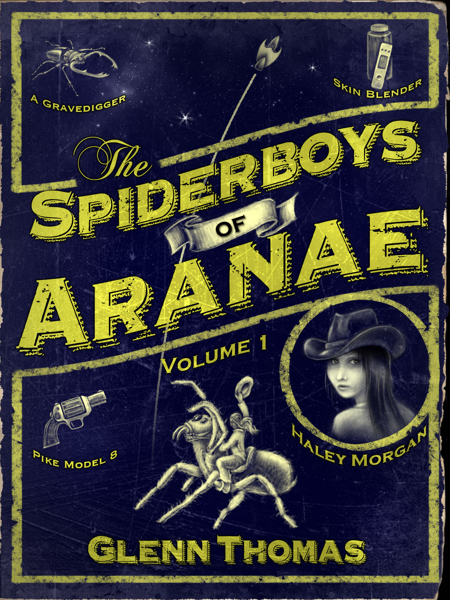 The Spiderboys of Aranae, Vol. 1