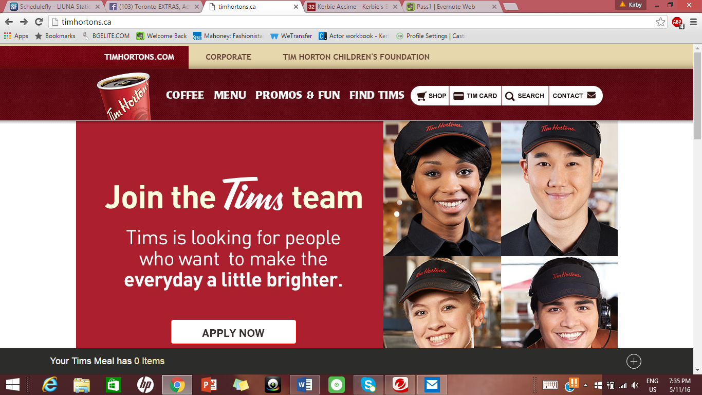 Tim Hortons Ad Campaign