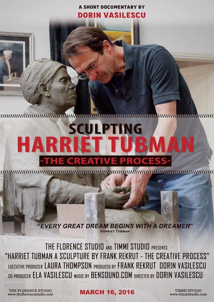 Sculpting Harriet Tubman - The Creative Process