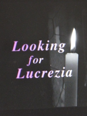 Looking for Lucrezia