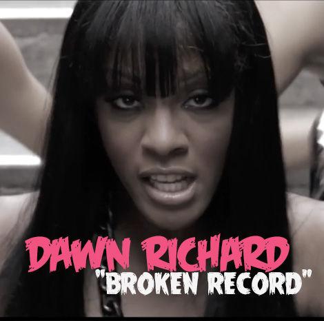 "Dawn Richard ""Broken Record"""