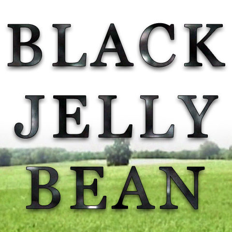Black Jelly Bean