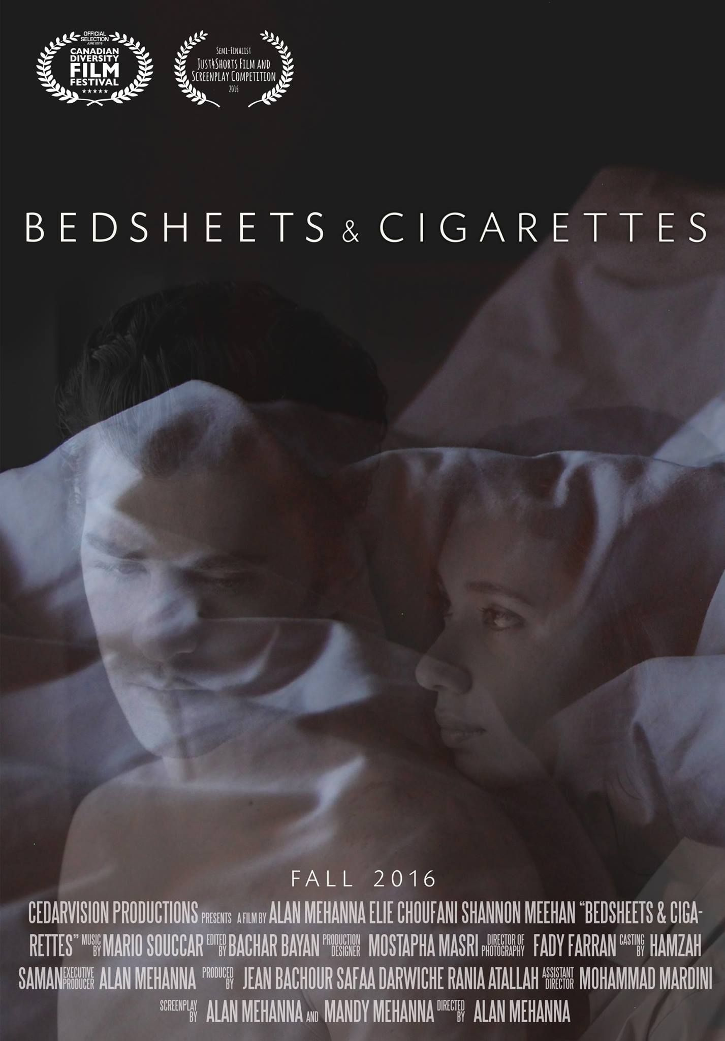 bedsheets and cigarettes