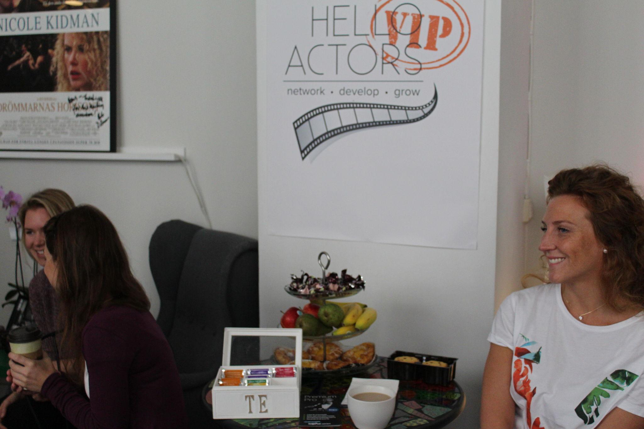 Hello Actors VIP - Casting director Nancy Bishop workshop