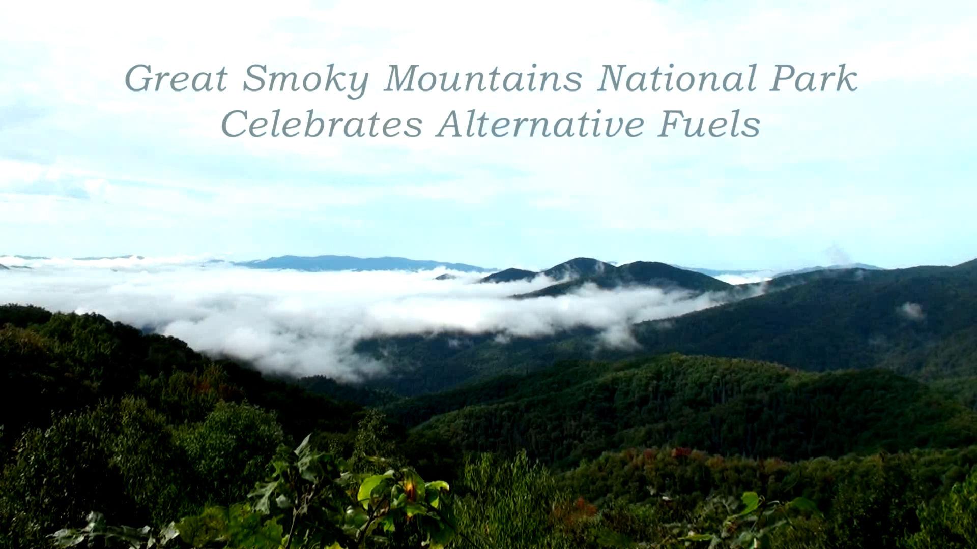 Great Smoky Mountains Celebrates Alternative Fuels
