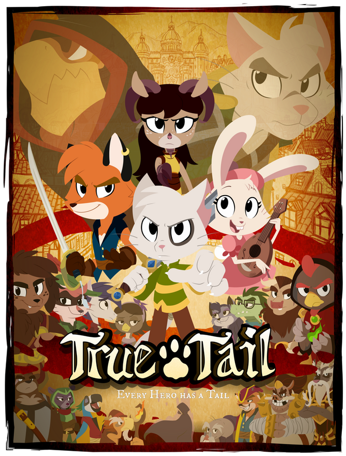 True Tail (pilot episode animatic only)
