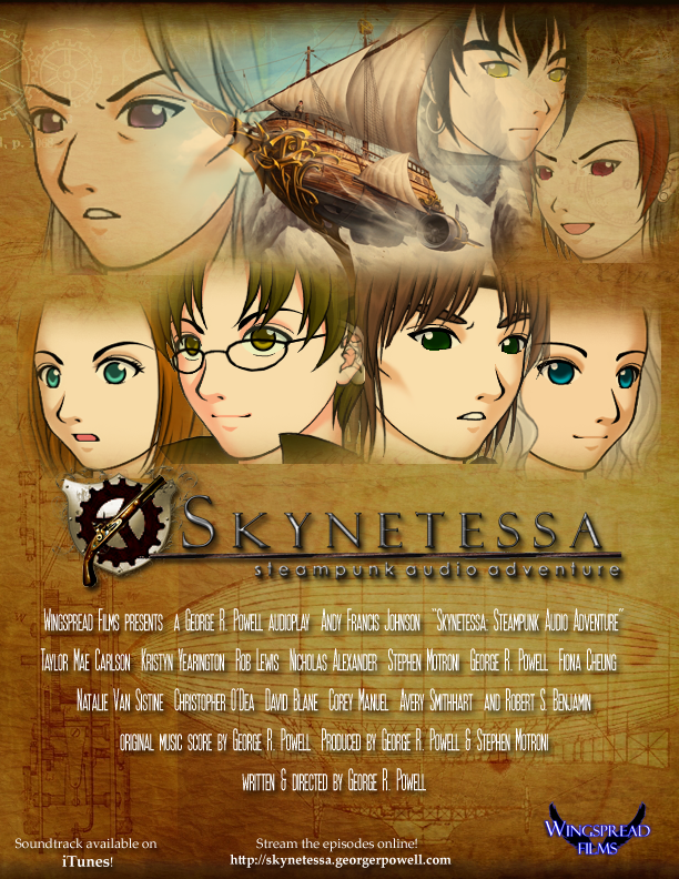 Skynetessa - Steampunk Audio Adventure