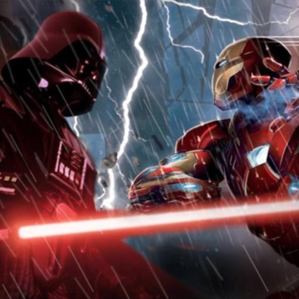 Star Wars vs Avengers Supercut Trailer (Fan made)