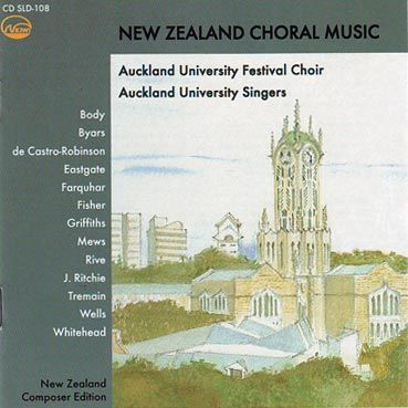 New Zealand Choral Music CD