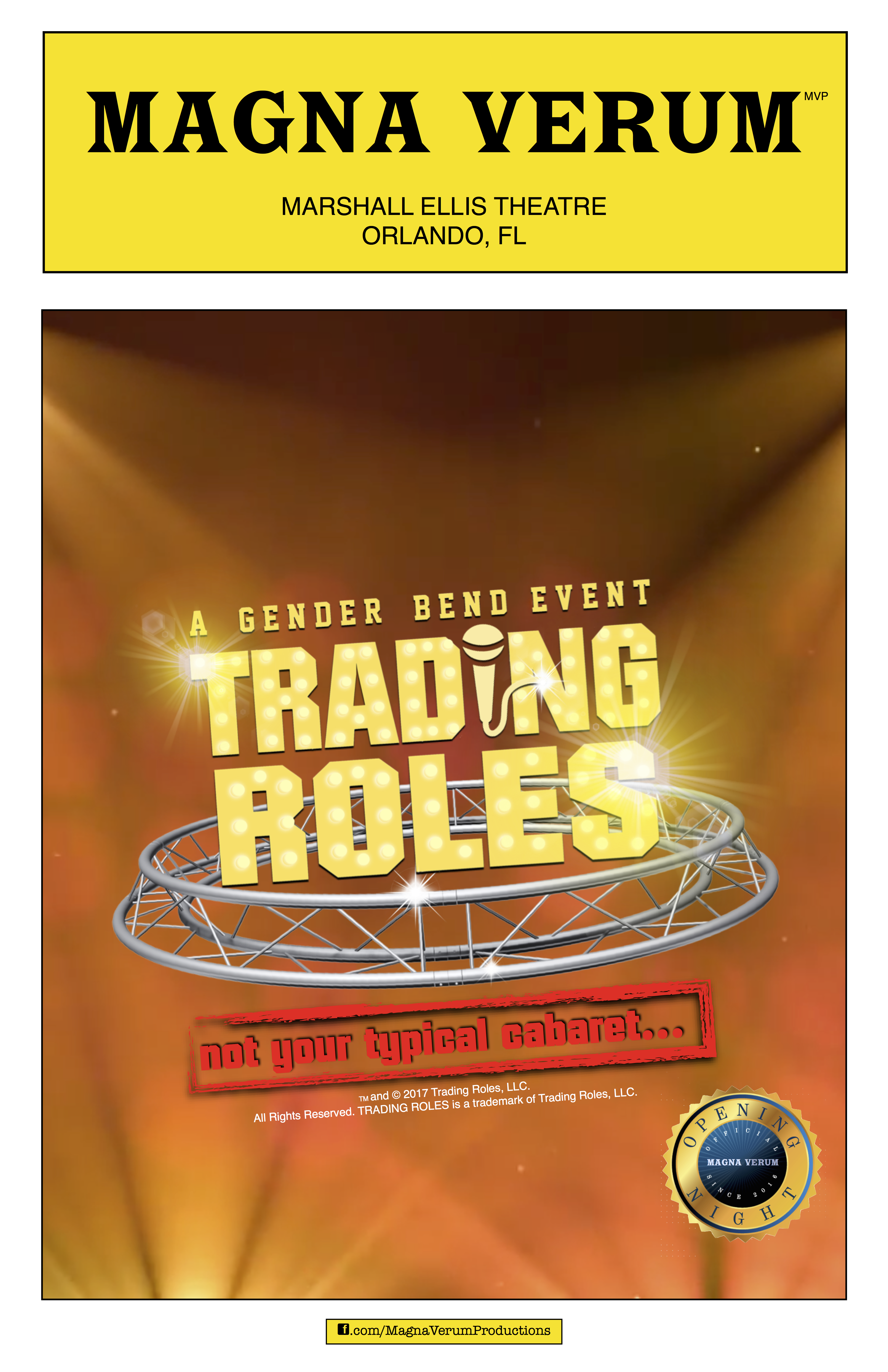 Trading Roles - A Gender Bend Event