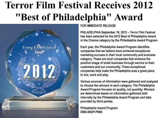 Terror Film Festival Promotional Video 2012