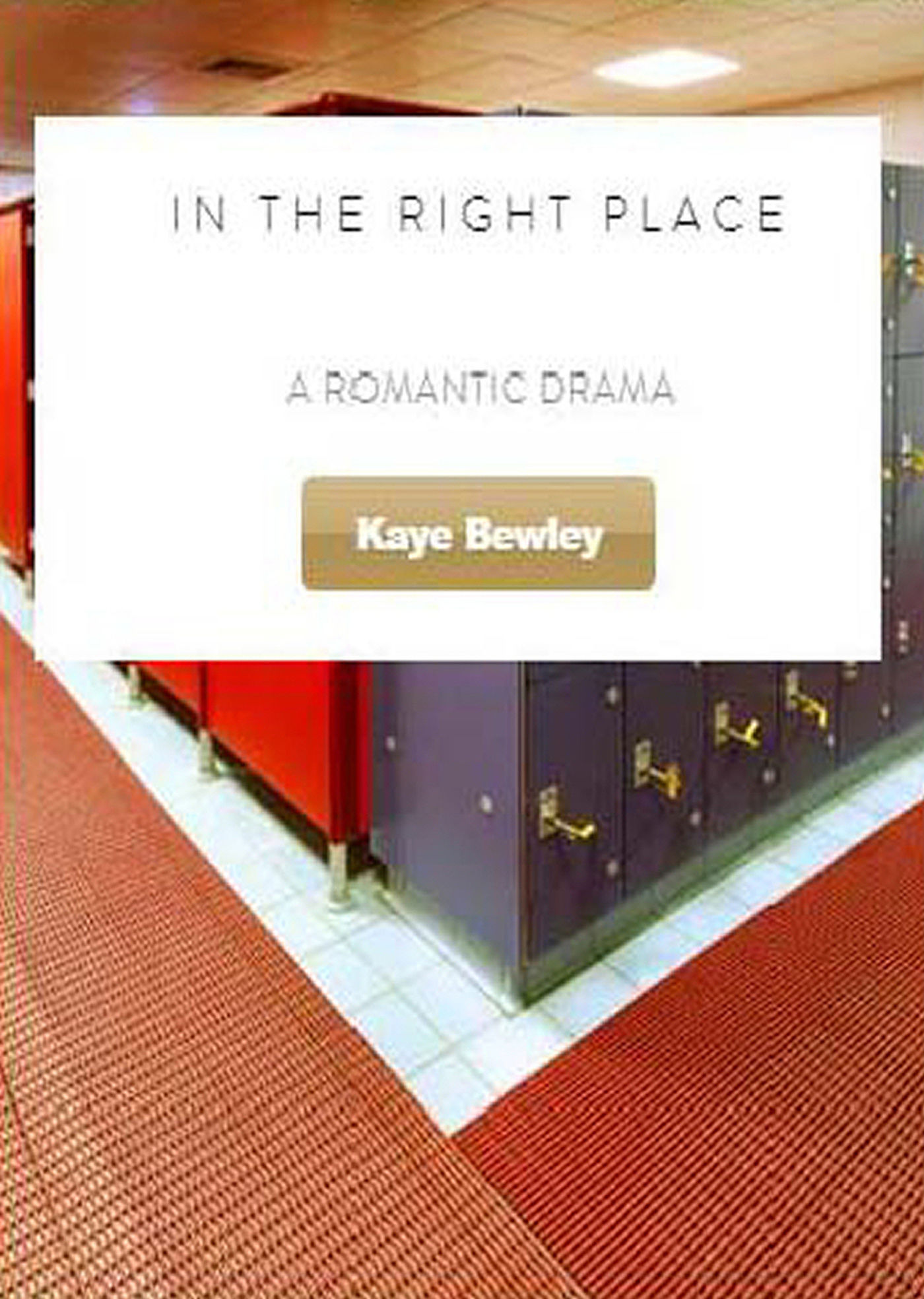 In the Right Place - Screenplay