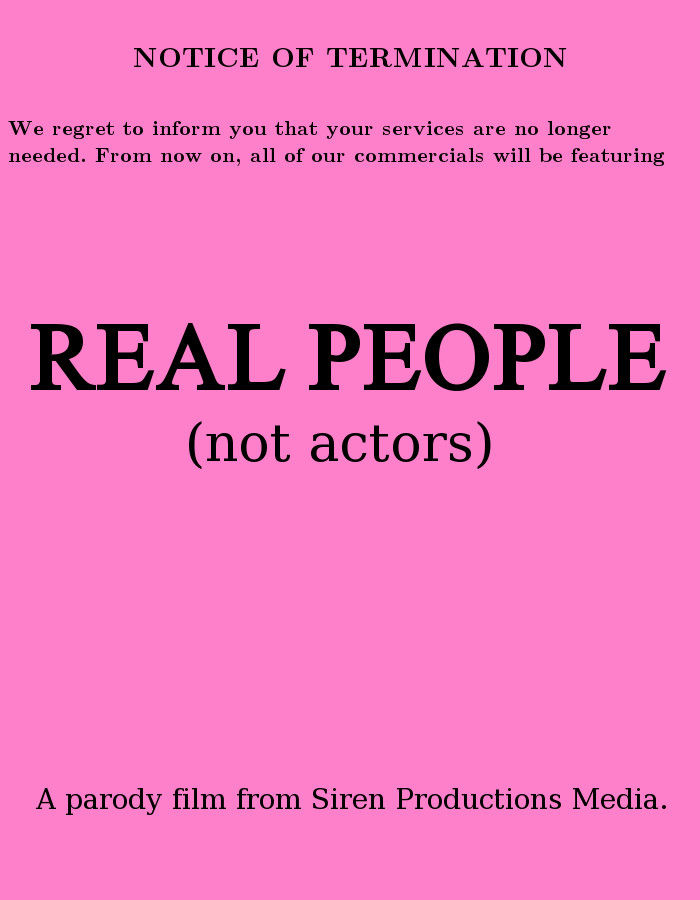 Real People (Not Actors)