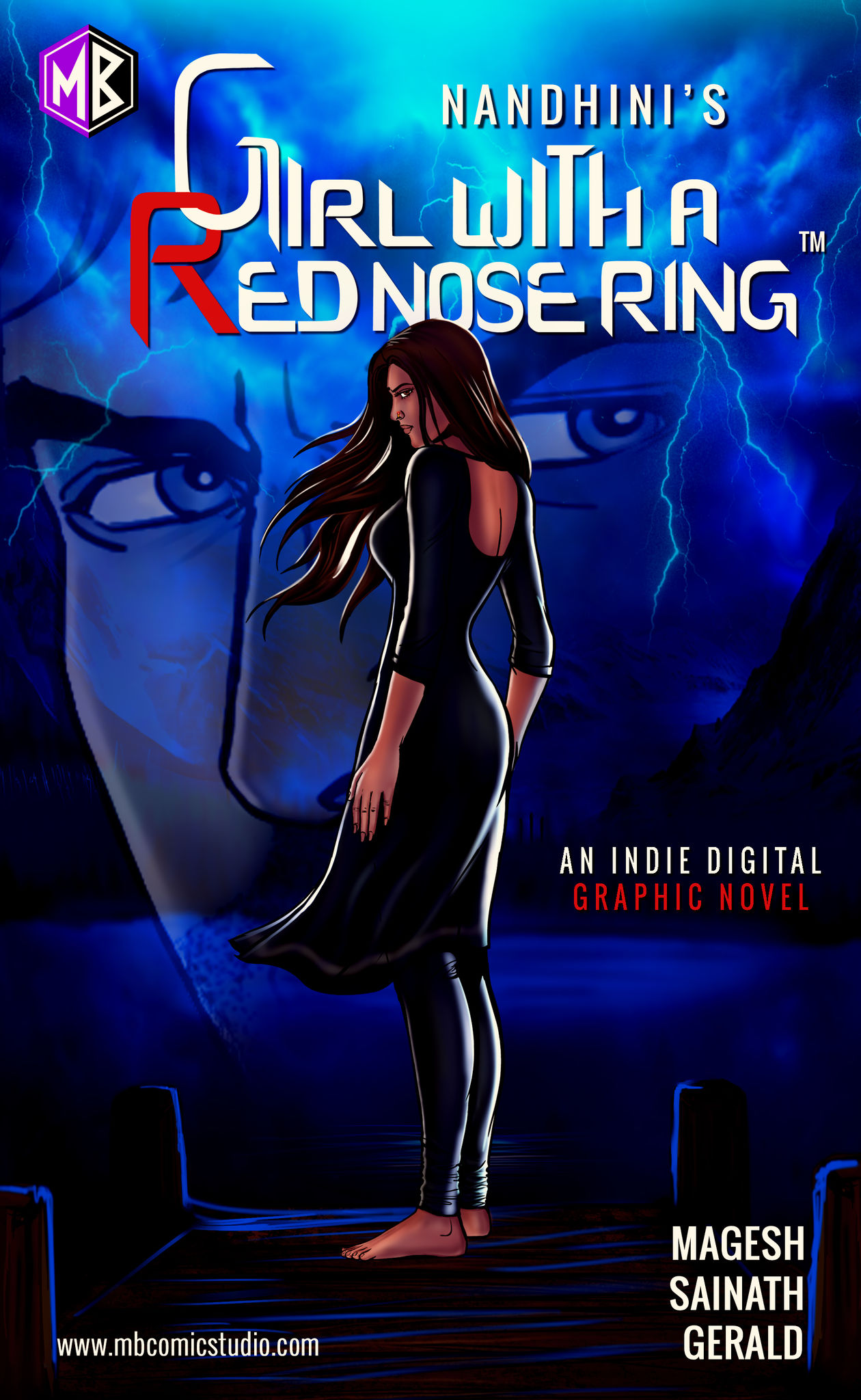 Girl with a Red Nose Ring - Indie Graphic Novel
