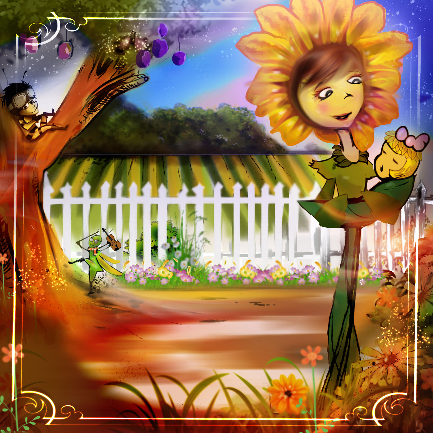 Winkie and the Sunflower