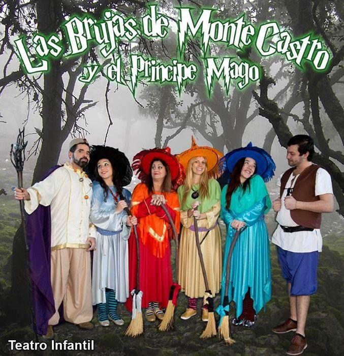 La brujas de Monte Castro y el Principe Mago