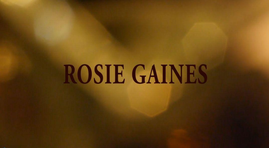 Rosie Gaines, tribute film & IndieGOGO campaign