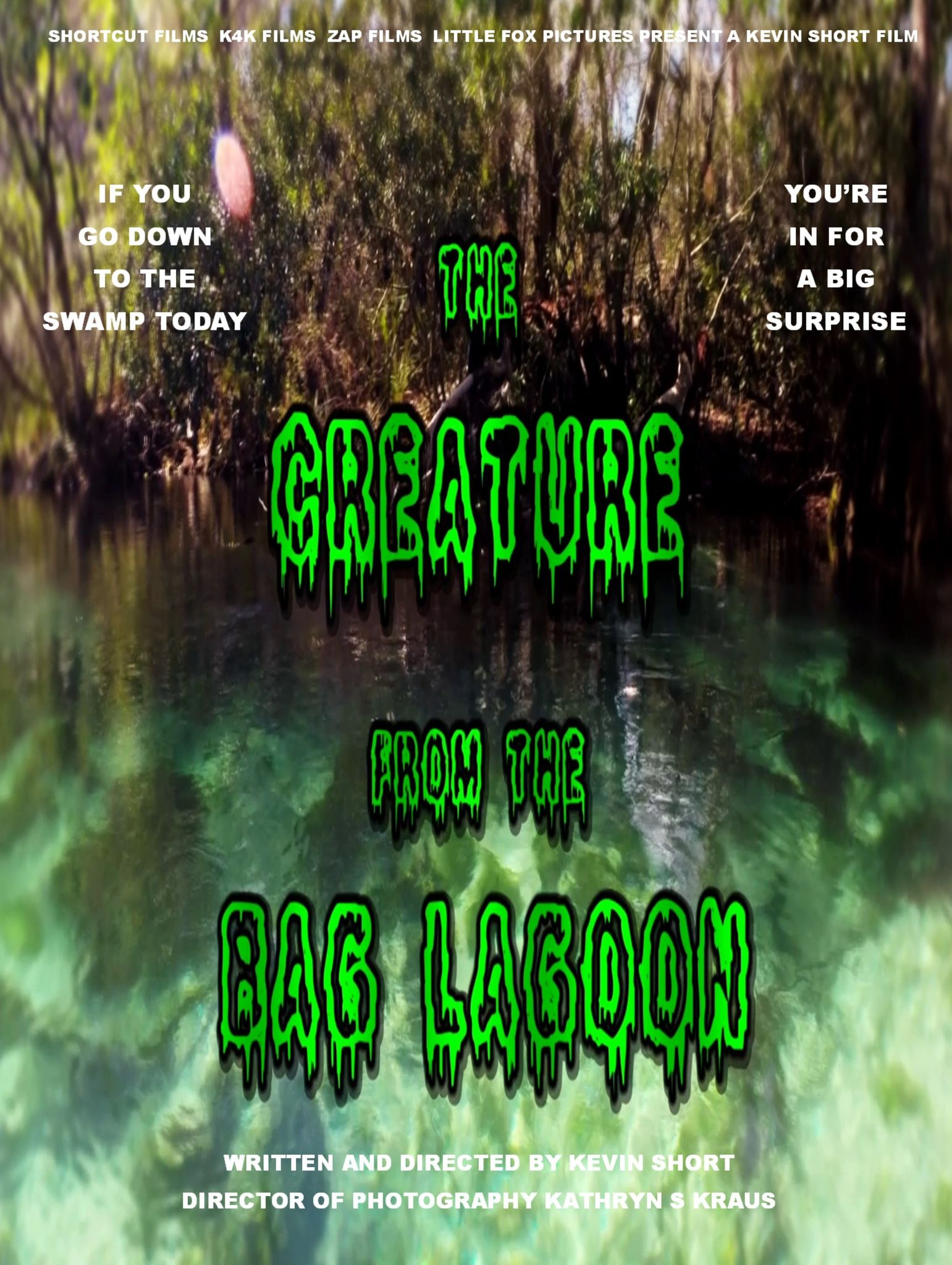 The Creature from the Bg Lagoon