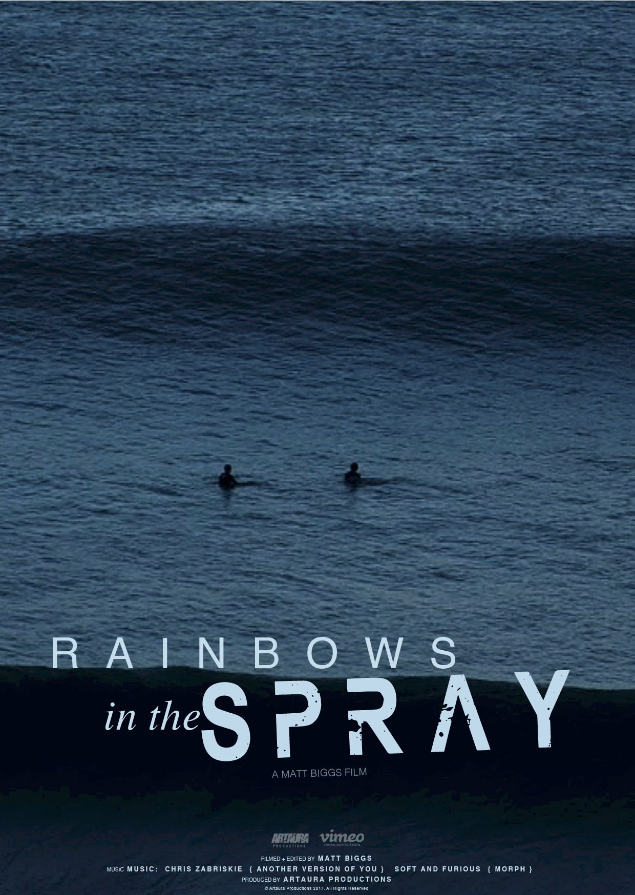 RAINBOWS IN THE SPRAY