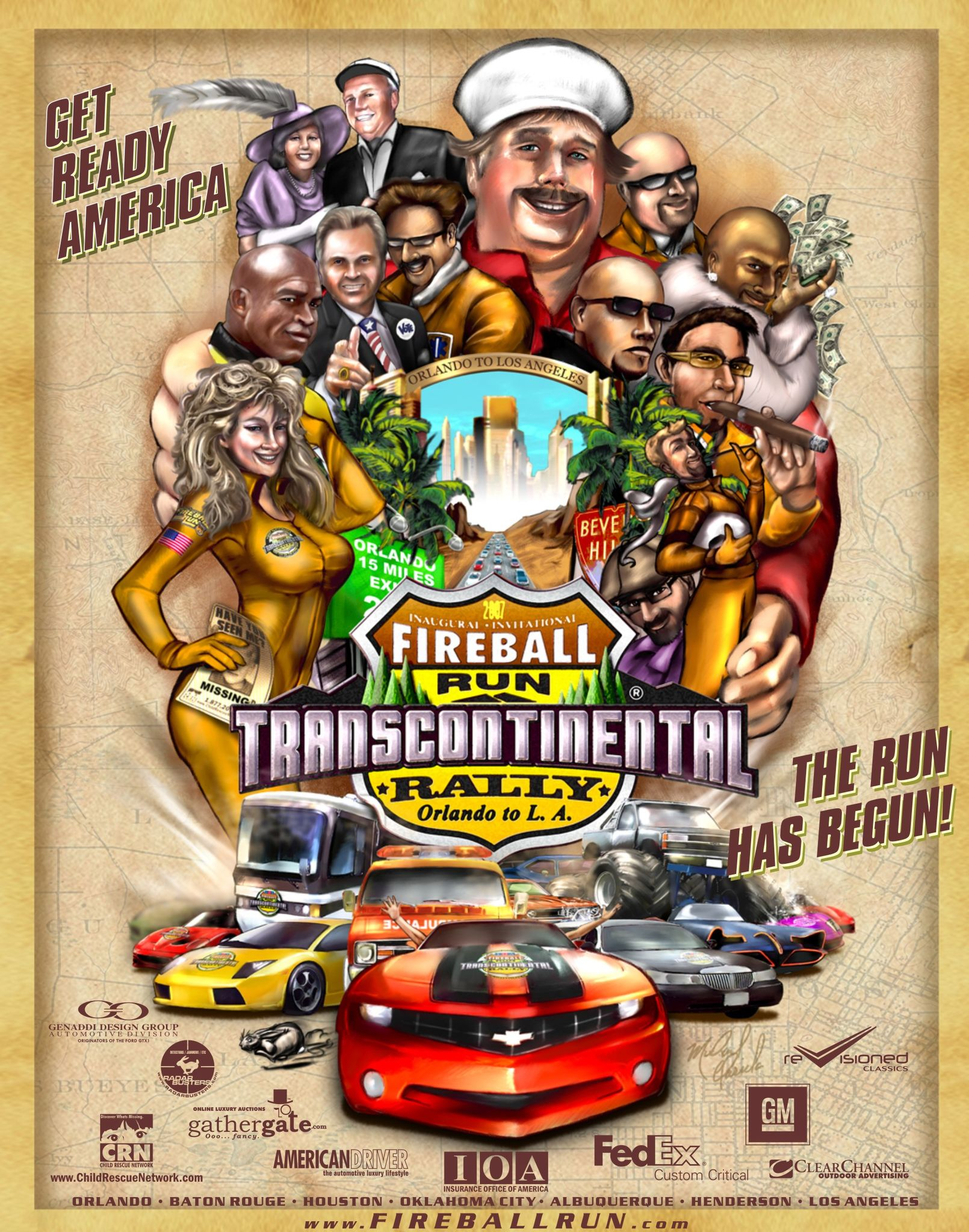 The Fireball Run