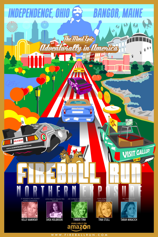 Fireball Run: Northern Exposure