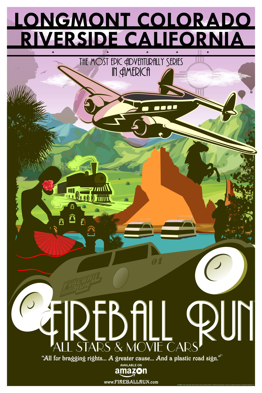 Fireball Run: Movie Cars