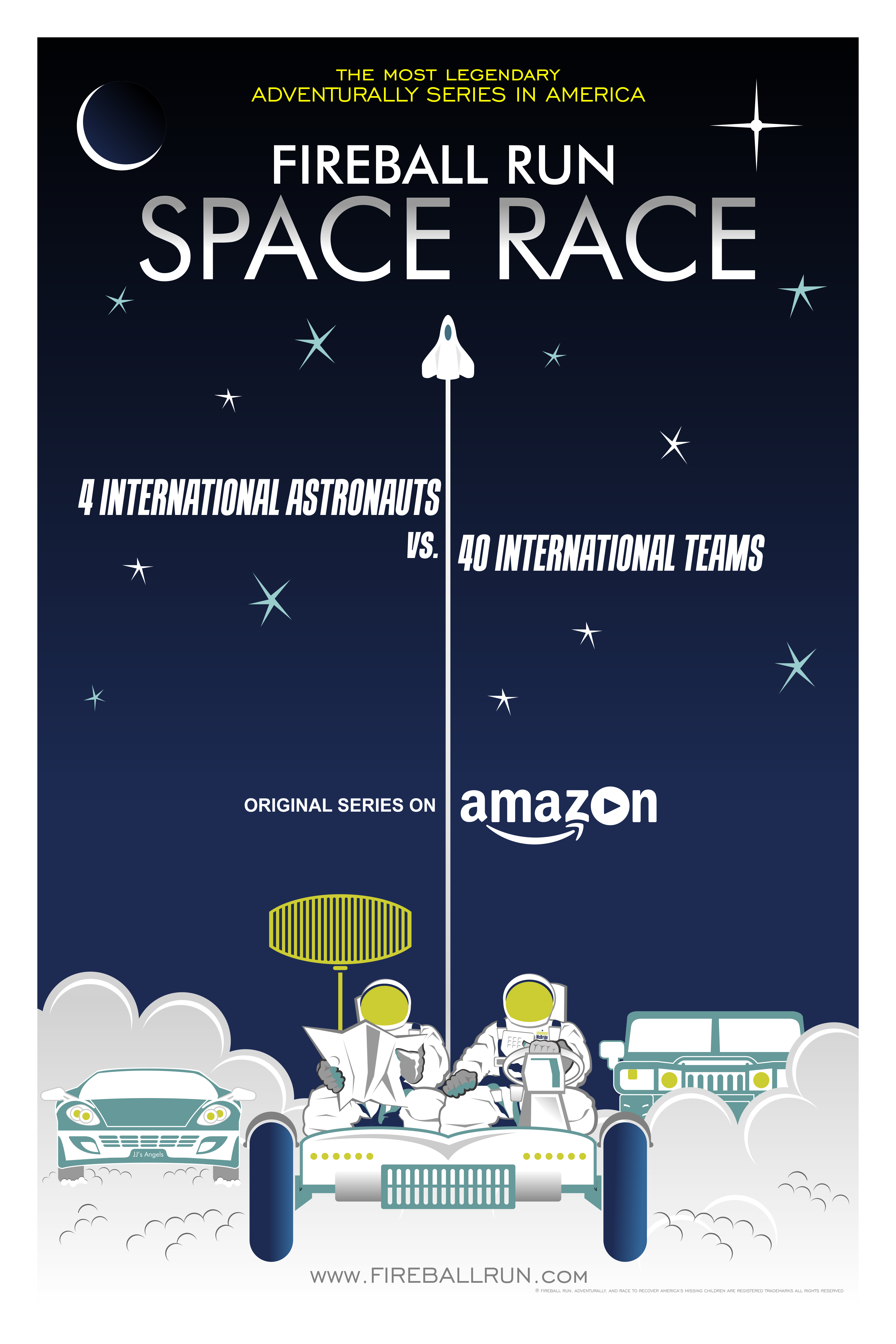 Fireball Run: Space Race