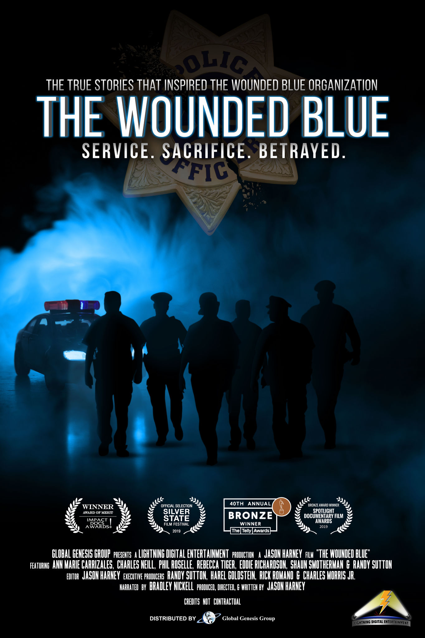 The Wounded Blue