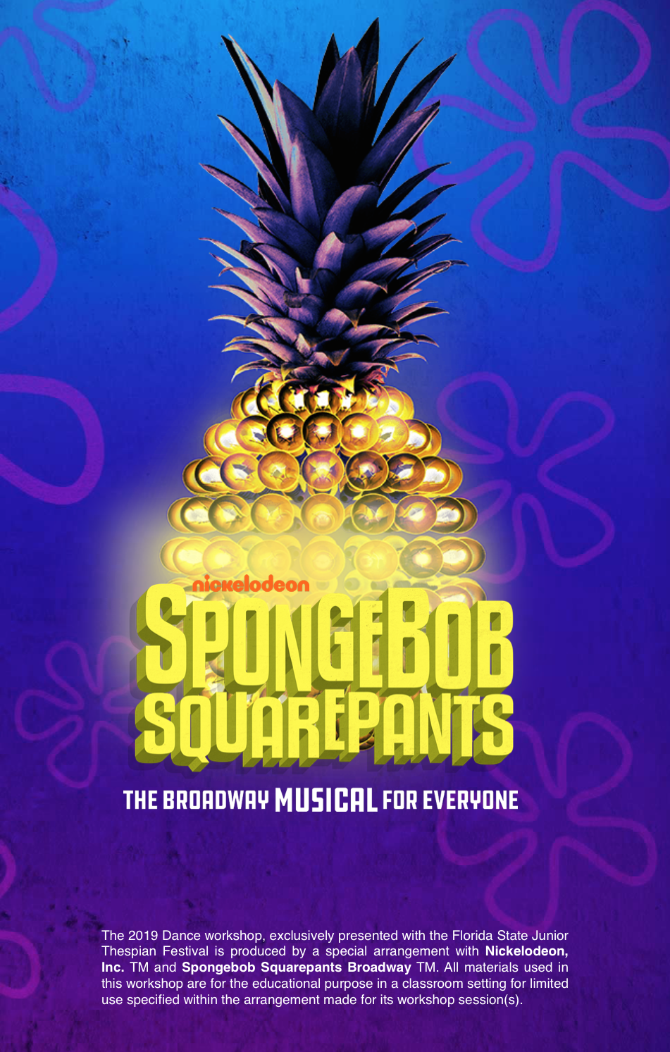 Spongebob Squarepants Broadway Dance Workshop
