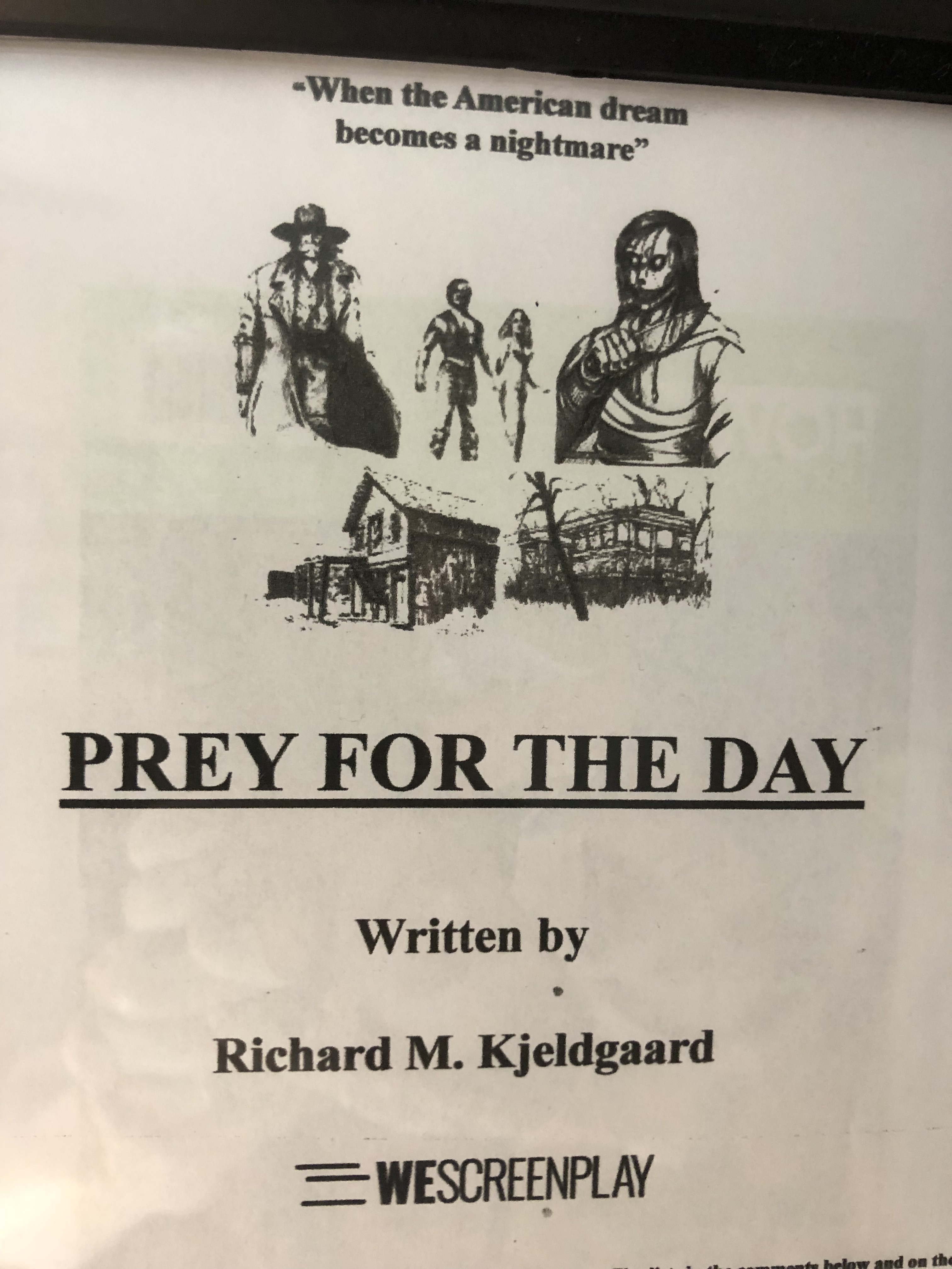 Prey for the day