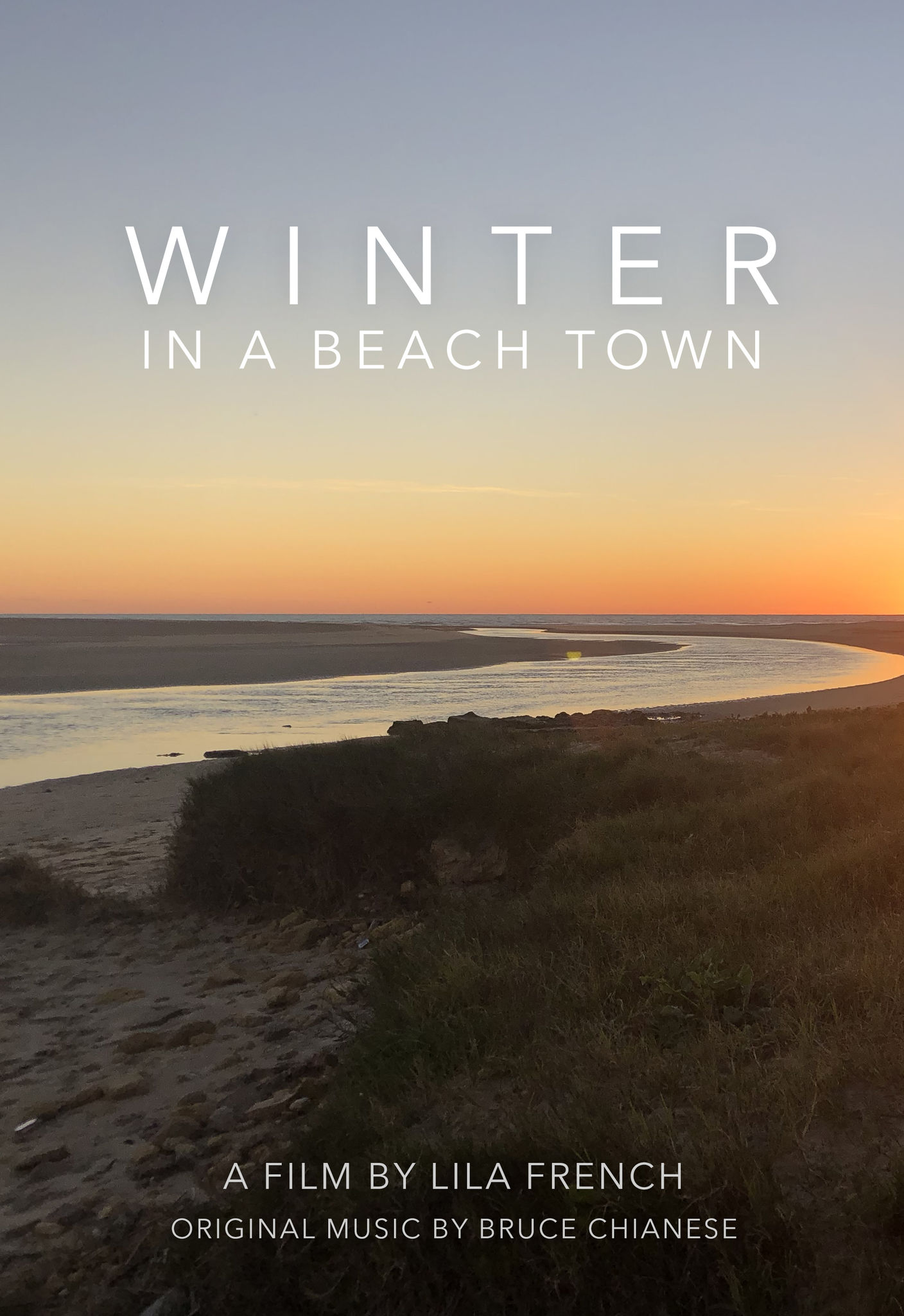 Winter in a Beach Town