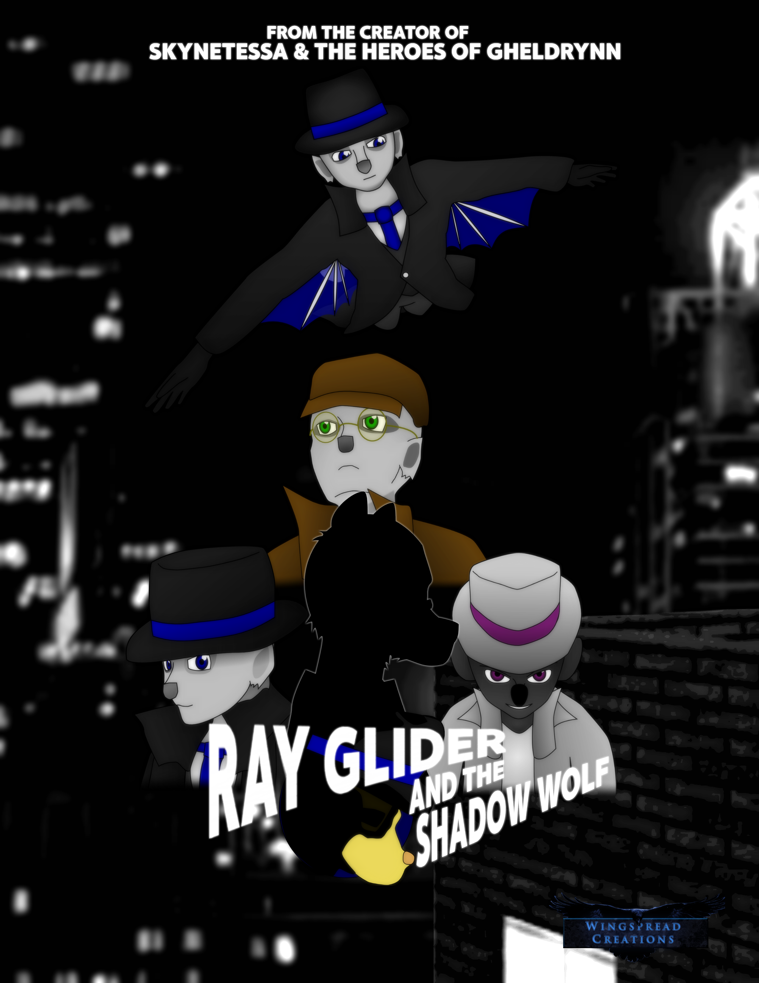 Ray Glider and the Shadow Wolf